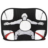 Football Goal Game Net Portable Folding Soccer Goal Door Match Sport Outdoor Training Football Net Gate With Bag For Men Kids