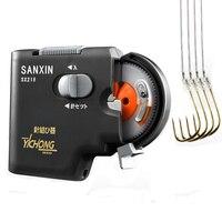 1Pcs Fishing Hook Line Tier Automatic Auto Hook Tie Machine Fishing Tackle SANXIN