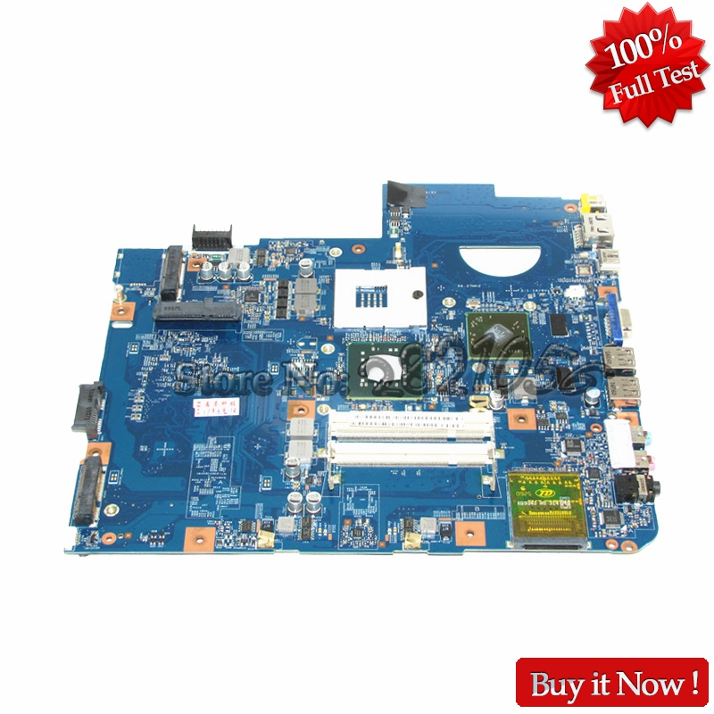 все цены на NOKOTION MBP5601015 MBPKE01001 48.4CG07.011 Notebook PC Main Board For acer Aspire 5738 laptop motherboard HD4500 DDR2 онлайн
