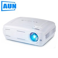 AUN AKEY2 LED Projector 3500 Lumens Upgrade Android 7 0 Beamer With WIFI Bluetooth Support 4K