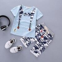 Children S Clothing Summer Children S Short Sleeved Pants Suit Baby Cotton Leisure Boys Half Sleeved