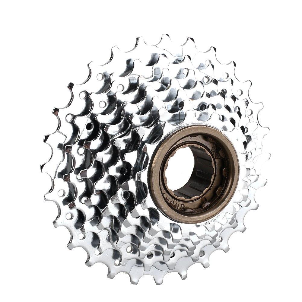 MTB горный велосипед Велоспорт 7 скоростной маховик 13-28T коленчатый набор заднее колесо велосипед кассеты открытый для спортивного велосипеда запчасти
