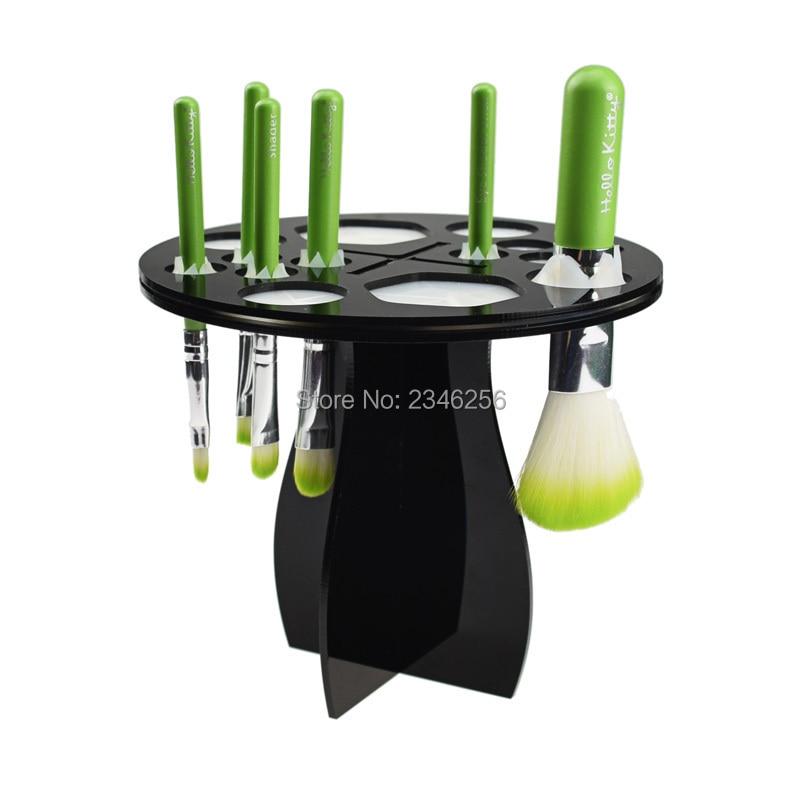 Nail Art Brush Cleaner: Makeup Brush Dryer Holder Tree Brush Cleaner Drying Rack