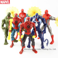 Hasbro Avengers 6pcs/set Returning heroes Spider-Man Venom Lizards, Dr.  Can light model toys