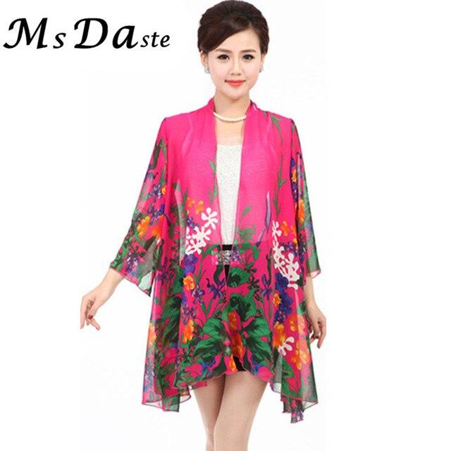 e8dcabcf614 Summer Women Chiffon Blouses Shirts Plus Size XL