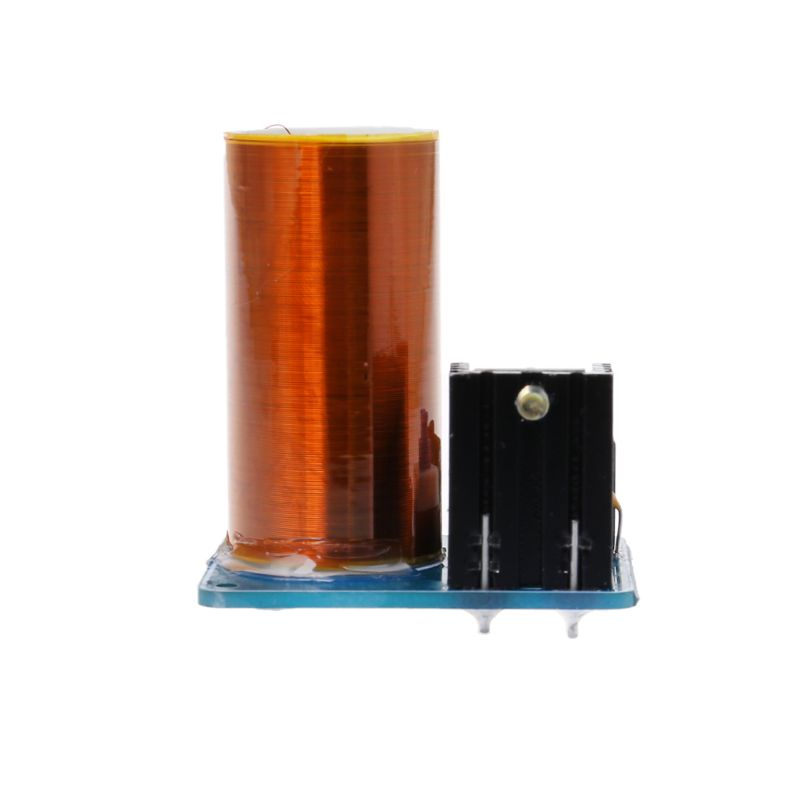 DIY 9-12V BD243 Mini Tesla Coil Kit Electronics DIY Parts Wireless Transmission