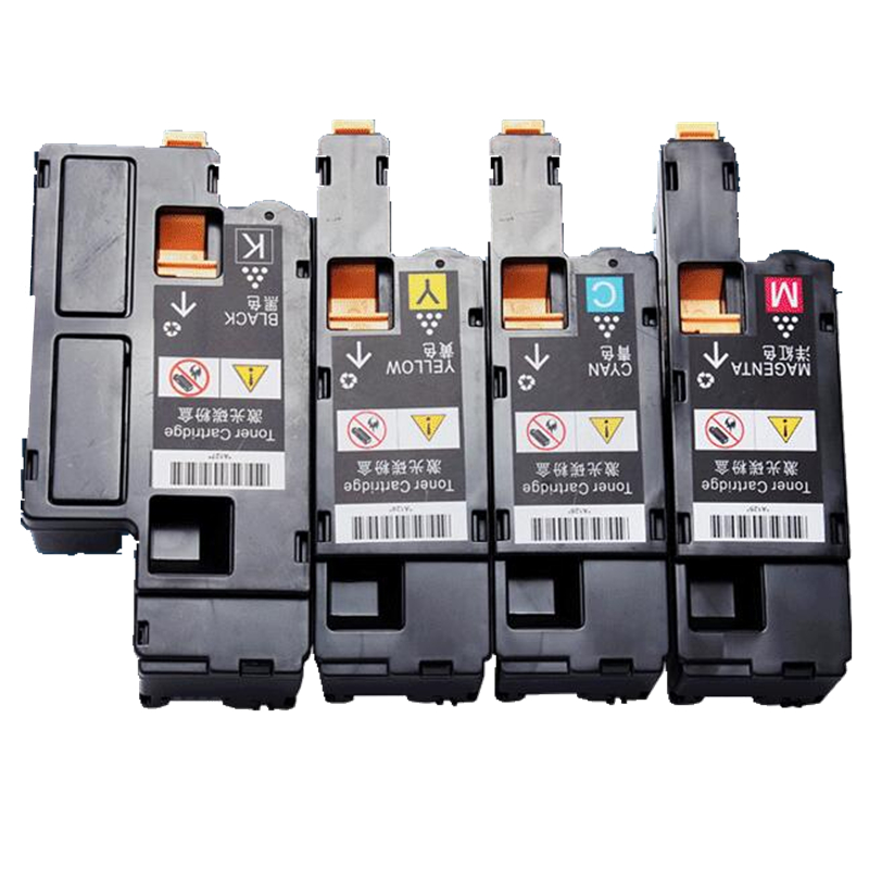 5 X color toner cartridge for Dell C1660W 1660 1660W printer (2xbk/c/y/m)