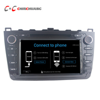 2G RAM Octa Core Android 6 0 Car DVD Player For Mazda 6 With GPS Navi