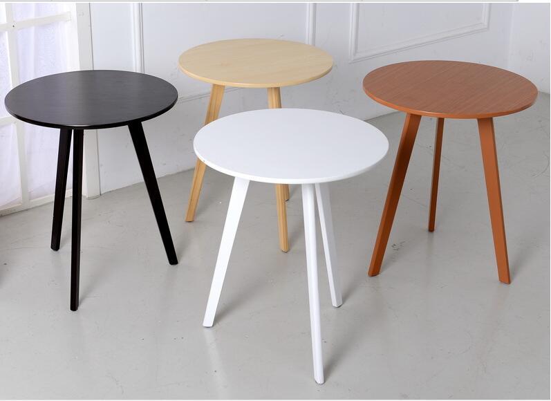 Eco Friendly Bamboo Creative Coffee Table Living Room Round Tea