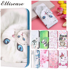 Leather Flip Case Cover For Samsung Galaxy J5 2016 Silicone Card Holder Wallet Luxury Phone Coque
