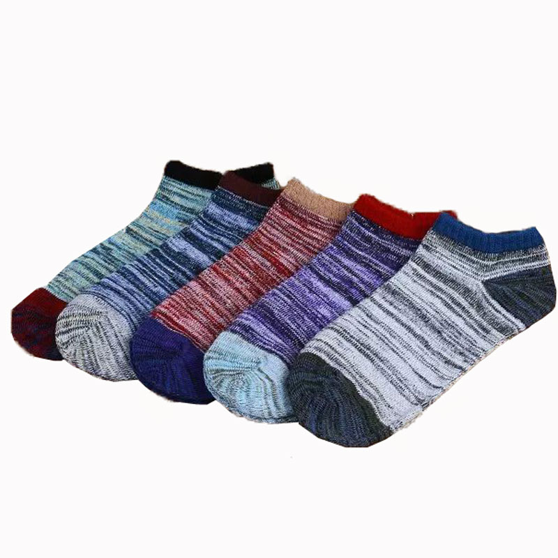 3Pair Womens Ankle Socks Warm Calcetines Mujer Women Winter Funny Socks Low Cut Short Cotton Socks Compression Sock For Female