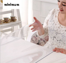 Weichen PVC tischdecke wasserdicht Anti-hot Kunststoff tischdecken tischsets Kaffee matte Transparente kristall platte kostenloser versand
