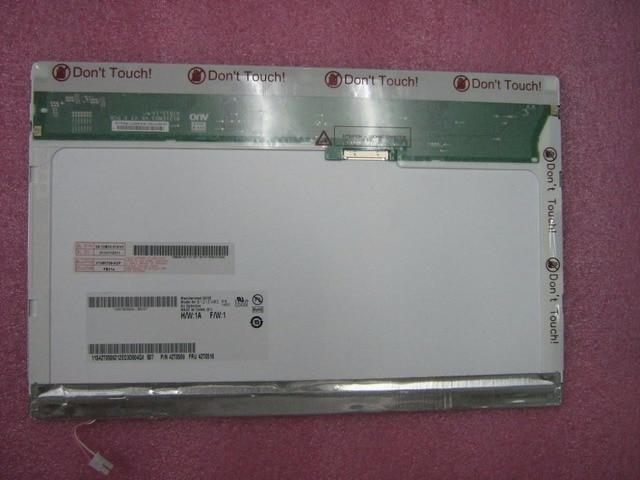 Nueva original para lenovo thinkpad x200 x201 lcd pantalla del panel de 12.1 w mate cffl auo wxga b121ew03 42t0510 42t0509