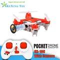 Envío libre 2.4G Cheerson CX-10C helicóptero de juguete de control Remoto rc mini quadcopter drone con crame VS jjrc h20 cx-10w cx-10d