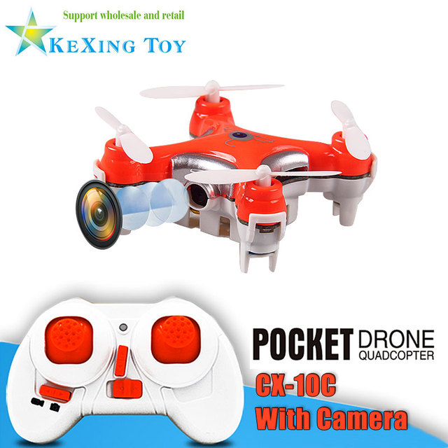 Free shipping 2.4G Cheerson CX-10C rc mini drone with crame quadcopter helicopter Remote control toy VS jjrc h20 cx-10w cx-10d