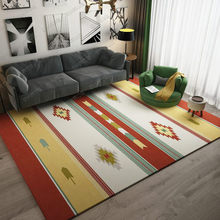 European style geometric carpet modern bedroom living room home rectangular large mat