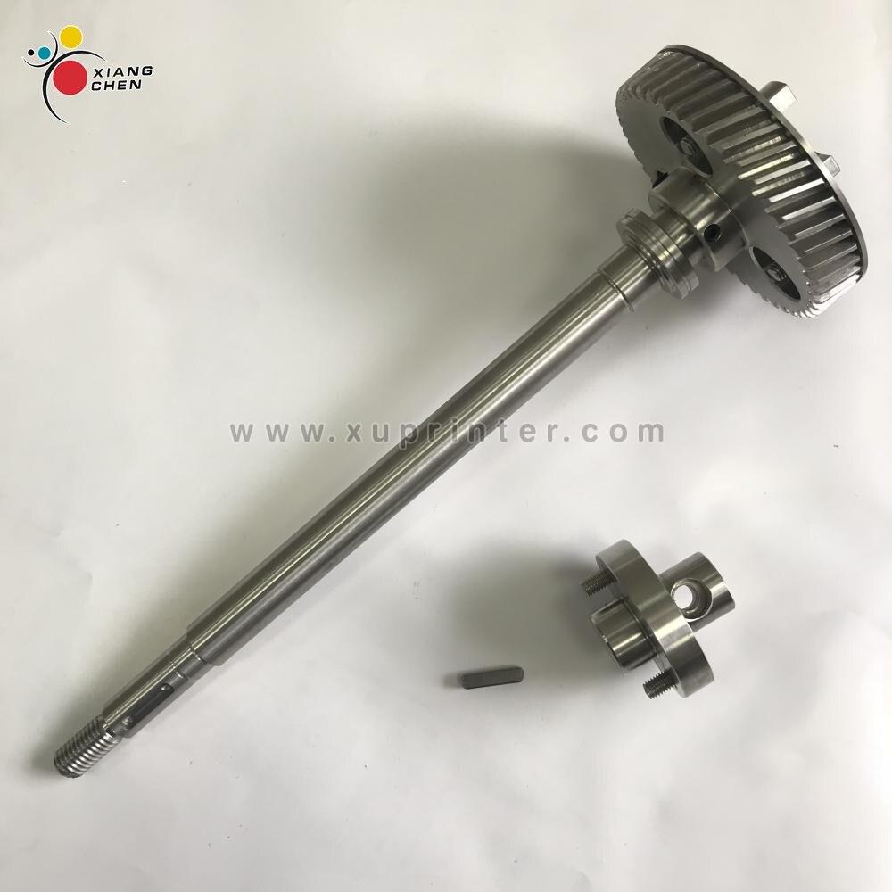 MV 022 730 Heidelber SM52 Gear Shaft G2 030 201 SM52 Gear R2 030 207 SM52