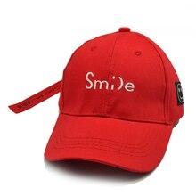 Smile letter embroidery Children Baseball Cap Boys Girls Kids Snapback Summer tourism sunshade Sun hat Hip Hop Caps