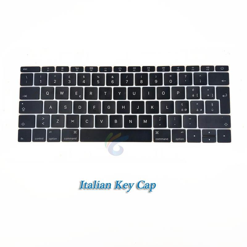 """A1708 клавишная крышка с белым зажимом для Macbook Pro 1"""" retina Key cap US/UK/французский/испанский/немецкий/японский/итальянский/Корейский - Цвет: Italian key cap"""