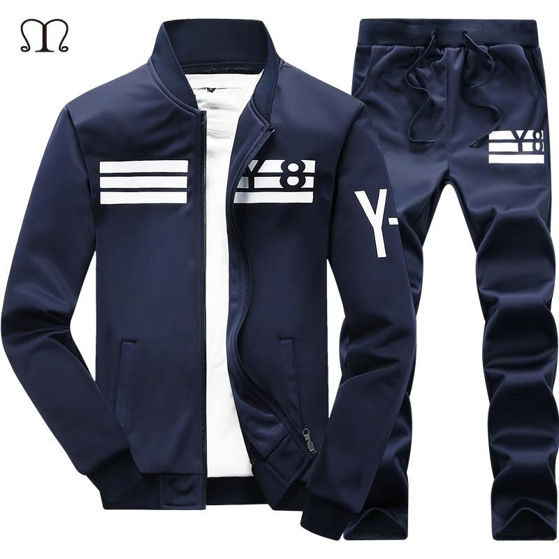 Brand Men S Sportswear Casual Hoodies 2017 Winter 2pcs