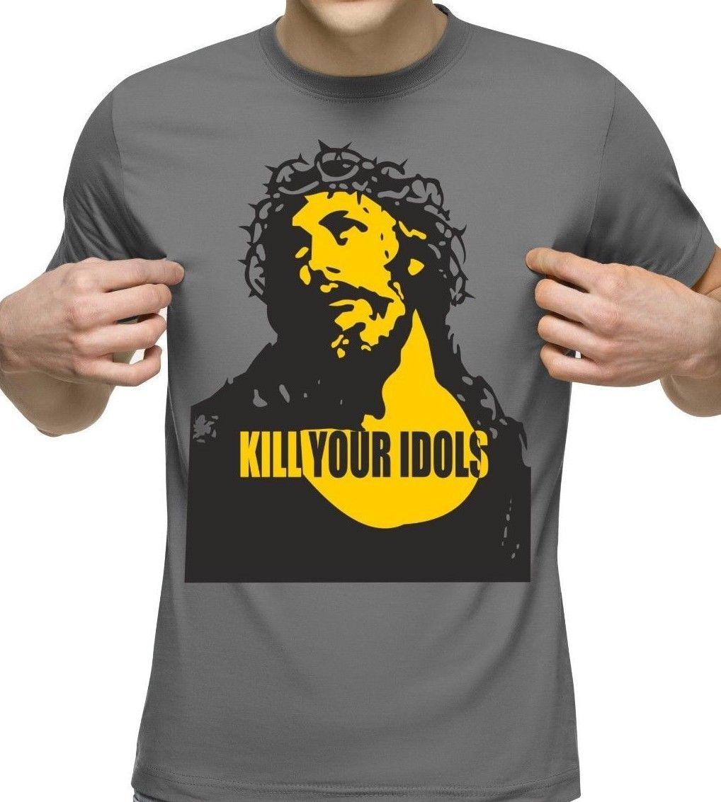 Camiseta Kill Your Idols T-Shirt Axl Rose Mens Guns /& Roses Freddie Mercury