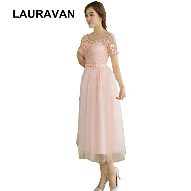 modest pink peach short teens tea length evening gowns dresses vintage occassion dresses beautiful party dress ball gown