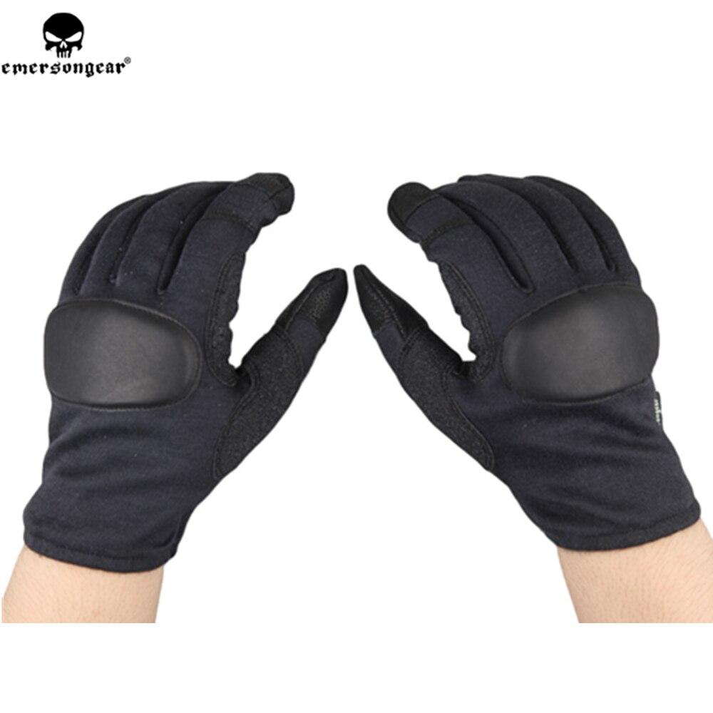 Emerson emersongear gants tactiques en plein air professionnel tir chasse gants de protection pleine doigts gants en cuir