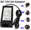 Free Shipping 1 Piece DC 24V 3A 72W Power Supply LED Driver For LED Strip 5050