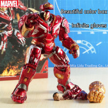 лучшая цена Hasbro Avengers Movie Periphery Iron Man Hulkbuster Model toys