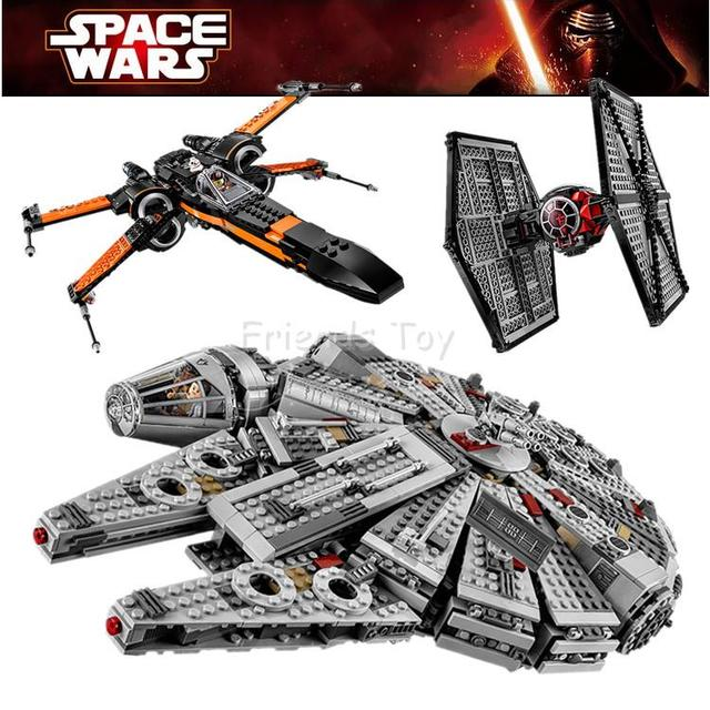 Star Wars The Force Awakens Tie Fighter Millennium Falcon X Wing