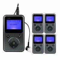 5pcs Portable Digital DAB/DAB Radio FM Radio Stereo Receiver REC Recorder Lossless Music Player Automatic Search Local DAB Y4107