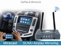 Car Media Player For ios12 5G/2.4G Car WiFi Display MirrorBox AirplayMiracast DLNA AllshareCast Screen Mirroring 1080P for HDTV