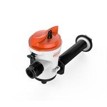 SEAFLO 600 GPH 12 V живущая приманка Скважинные насосы с водяным охлаждением корпус центробежный насос