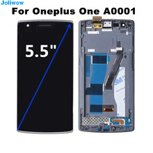 Original For Oneplus One Plus 1+ LCD Display + Touch Screen +fram +Toos Digitizer Assembly Replacement Accessories  недорго, оригинальная цена