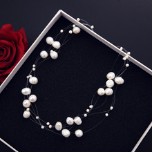 Fashion Party Multilayer Shell Pearl Necklace High-end Multilayer Beads Chain Necklace for Women Factory Accessories  Wholesale