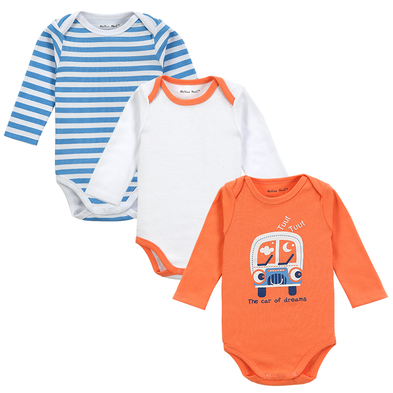 Free shipping! 3pcs/lot 2014 New Newborn Clothes Baby Romper Long-Sleeve Baby Product Next Girl Body Winter Baby Romper