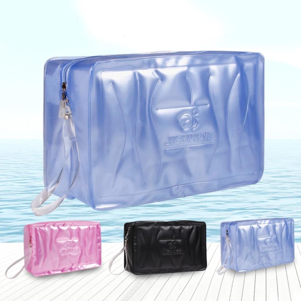 Swimming Gym Bag Waterproof Handbags Transparent Pvc Organizer Sack Swimsuit Wash Gargle Storage Pool Beach Bags For Adult Child Swimming Bags Aliexpress