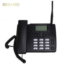 GSM Ets3125i Стационарный GSM Телефон Рабочий Стол Стационарный Телефон С FM Радио 900/1800 МГц Фиксированной Беспроводной Телефон Домашний Черный