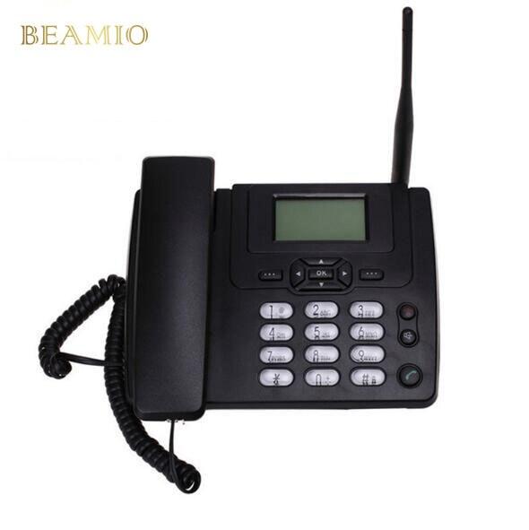 GSM ETS3125i GSM Fixe Téléphone de Bureau Téléphone Fixe Avec FM Radio 900/1800 MHz Fixe Sans Fil Téléphone À La Maison Noir