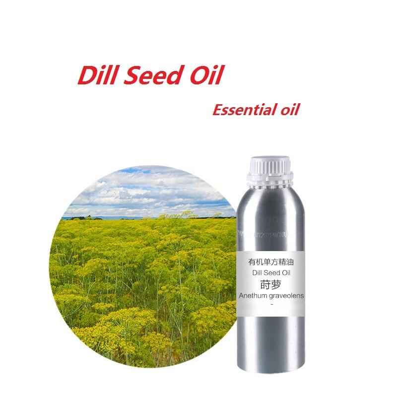 Cosmétiques 50 ml/bouteille huile de graines d'aneth huile essentielle biologique pressée à froid huile végétale livraison gratuite soins de la peau