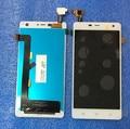ЖК-экран + Сенсорная панель дигитайзер Для THL 5000 белый бесплатная доставка