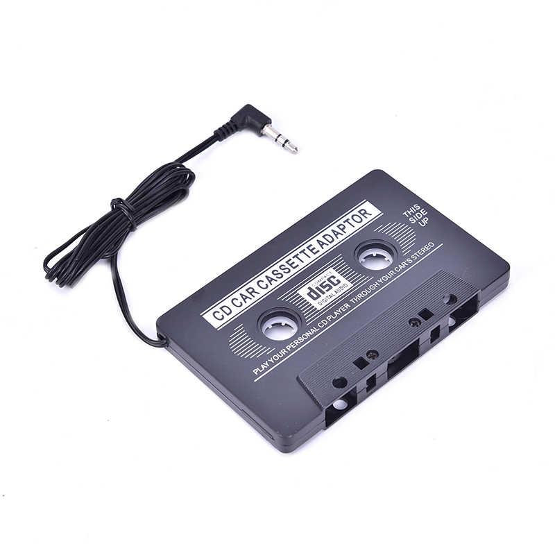 คุณภาพสูงสีดำ Universal เทปคาสเซ็ตรถเทปเสียงสำหรับ MP3 CD DVD Player