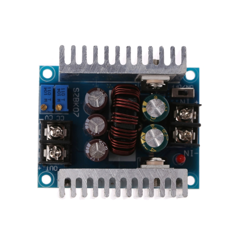 1PC DC 300W 20A CC CV Constant Current Adjustable Step-Down Converter Voltage Buck W315 dc dc automatic step up down boost buck converter module 5 32v to 1 25 20v 5a continuous adjustable output voltage