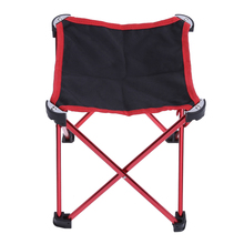 1pcs Aluminum Alloy Folding Chair Seat Stool Fishing Picnic Camping Hiking BBQ Beach Backpack Fishing Chairs with Carry Bag New