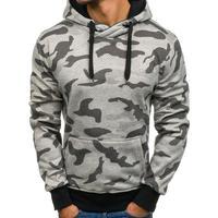 Men S Sweatshirts 2018 Brand Hoodies Men Long Sleeve Sweatshirt Camouflage Printed Pullover Hooded Sportswear Black