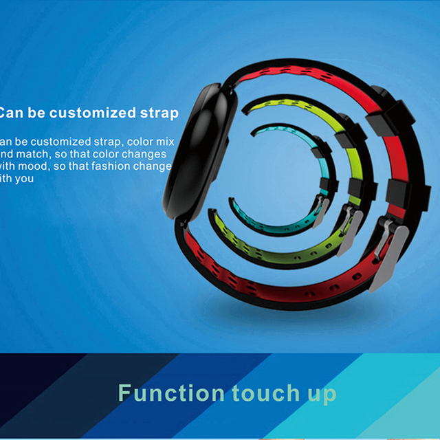 Blood Pressure Measurement Fitness Smart Watch 4