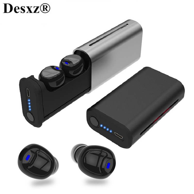 TWS bluetooth 5.0 Wireless bluetooth earphone Earphones Sports headset HiFi Stereo Earbuds handsfree with Charging Box Mic tws 5 0 bluetooth earphone touch control stereo music in ear type ipx6 waterproof wireless earbuds with charging box yz209