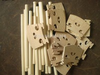 30 PCs Violin sound post 6mm*13cm Plus 15 PCs Quality Violin Bridge 4/4