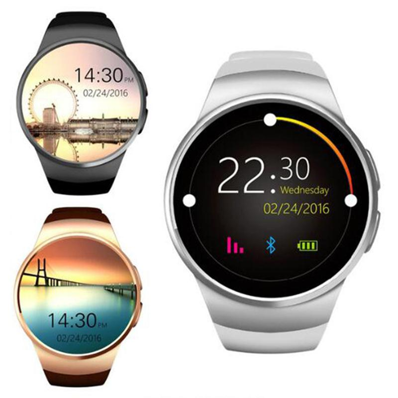 Bluetooth Bluetooth heart rate tracker Smart Watch KW18  WristWatch for Samsung HTC Huawei LG Xiaomi Android IOS Smartphones f2 smart watch accurate heart rate