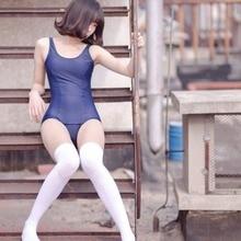 Японская школьная форма SUKUMIZU белый/синий купальный костюм косплей костюм бикини цельный купальный костюм бикини купальный костюм топ одежда для плавания